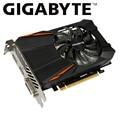 Gigabyte placa gráfica gtx 1050ti por GPU GTX 1050 Ti da gigabyte gtx 1050 1050ti GV-N105TD5-4GD GDDR5 4GB video cartão para pc