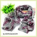 Estilo de Bohemia Flores de Impresión Bufanda de La Gasa de la Bufanda Del Otoño Del Resorte Mujeres Soft Multifuncional Bufandas Chal de Aire Acondicionado