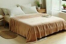 CAMMITEVER 5 Tamanhos 100% roupa de Cama Premium Macio Cobertor Snuggle Cozy Camas Cobertores de Cama Sofá Lance Quente Confortável