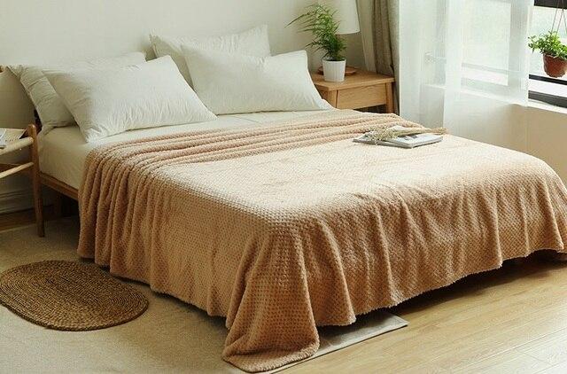 CAMMITEVER, 5 tamaños 100%, suave manta de cama Premium, cómodas mantas, cama cálida, sofá, camas cómodas