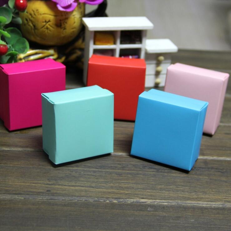 6 5 6 5 3 8cm 100pcs Small Candy Paper box chocolate gift box for Birthday