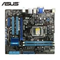 ASUS P7H55 M LX Original Computer P7H55M LX 1156 Motherboard Socket P7 H55 M LX LGA uATX DDR3 DVI VGA USB2.0 Desktop Mainboard