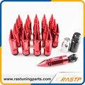 RASTP-Novo Design Corrida Composite Porca Anti Roubo Liga de Alumínio Roda de Bloqueio Lug Porca e Parafuso com Spikes LS-LN038