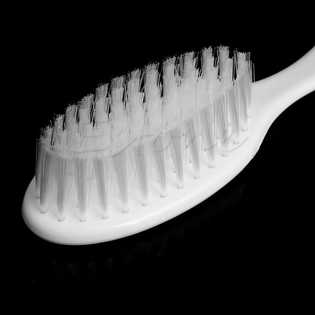2Pcs White Safety Soft Baby Hair Brush Set Infant Comb Grooming Shower Design Pack Kit Hot!
