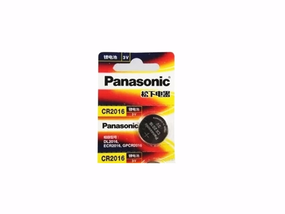 2 X Original Brand New Battery For Panasonic Cr2016 3v