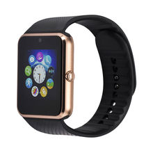 2017 marke Smart Uhr GT08 Bluetooth Verbinden zu IOS iPhone 7 Plus Android Telefon Smartwatch A8 LF07 GV18 Armbanduhr Sim karte
