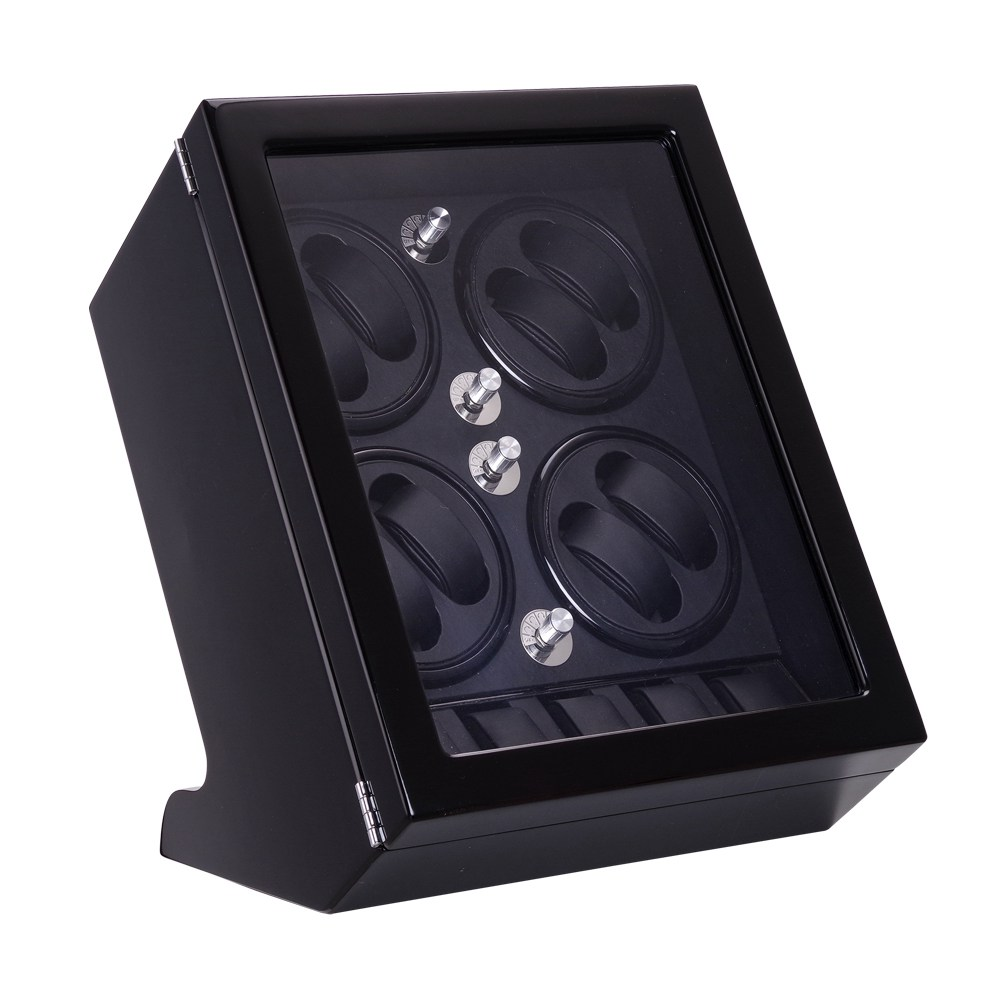 Watch Winder ,LT Wooden Automatic Rotation 8+6 Watch Winder Storage Case Display Box 2018 New style black watch winder lt wooden automatic rotation 4 0 watch winder storage case display box the new style all carbon