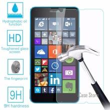 9H Hardness Tempered Glass For Microsoft Nokia Lumia 640 LTE 640 Dual SIM 640 Sc