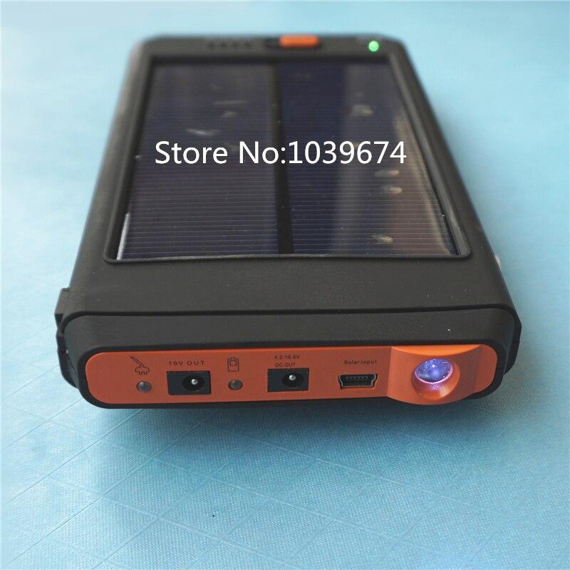 Lithium polymer 30000MAH rechargeable Solar Energy Power supply for Laptops cellphones 19V,4.2V,12.6V,16.8V,8.4V LiPo Batteries
