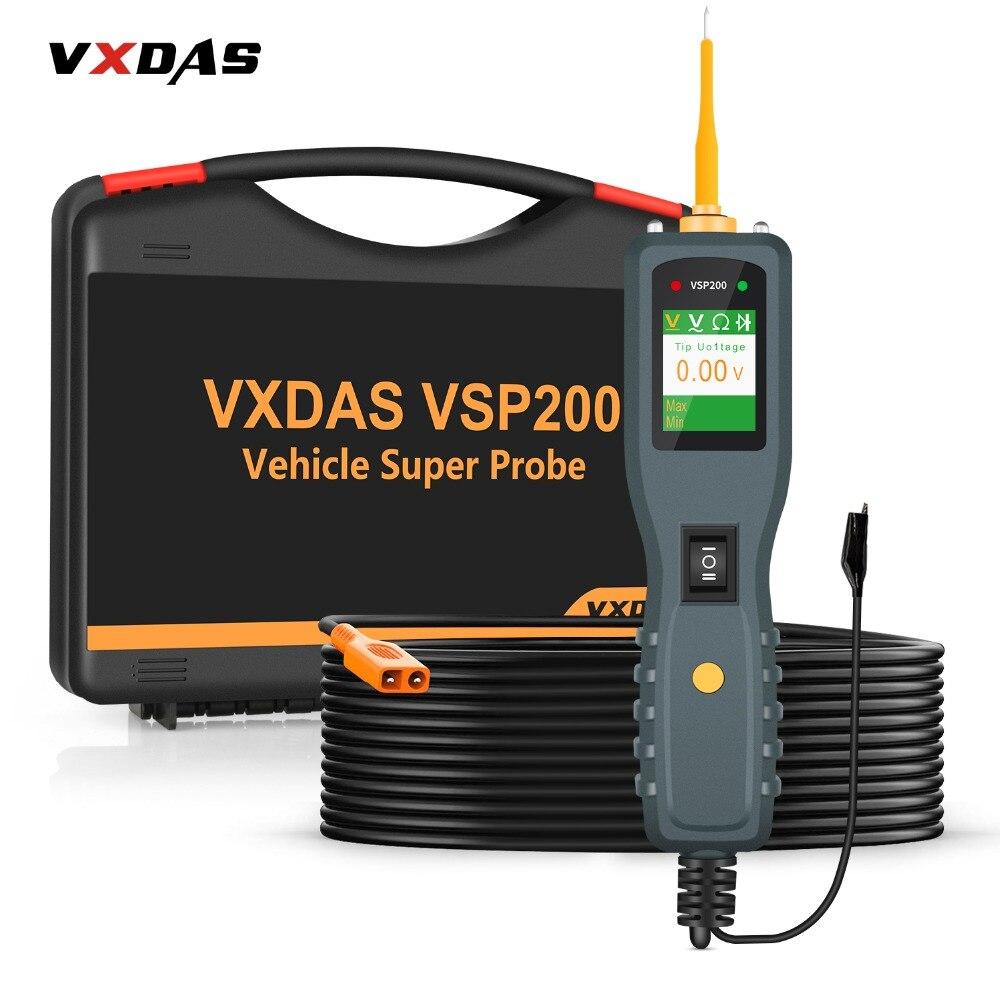 VXDAS VSP200 OBD2 Auto Circuit De Diagnostic Outils 12 V-24 V Camion Batterie Testeur Outils Électriques AUTEK YD208 Véhicule super Sonde Kit