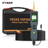 VXDAS VSP200 OBD2 Auto Circuit Diagnostic Tools 12V 24V Truck Battery Tester Power Tools AUTEK YD208 Vehicle Super Probe Kit