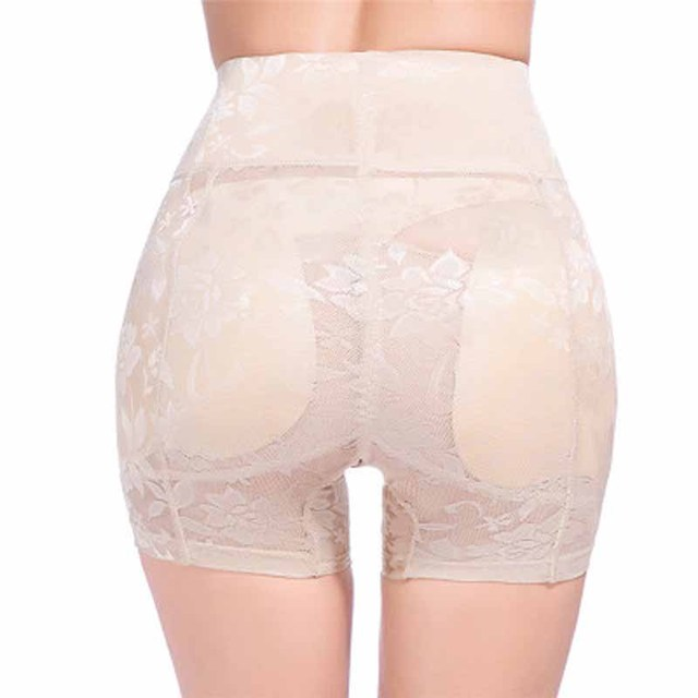 d3101edf8 Brand Sexy Women Body Shaper Butt Hip Enhancer Lady Panties Buttocks Up  Boyshorts Plus Size Woman Slim Padded Underpants M-4XL