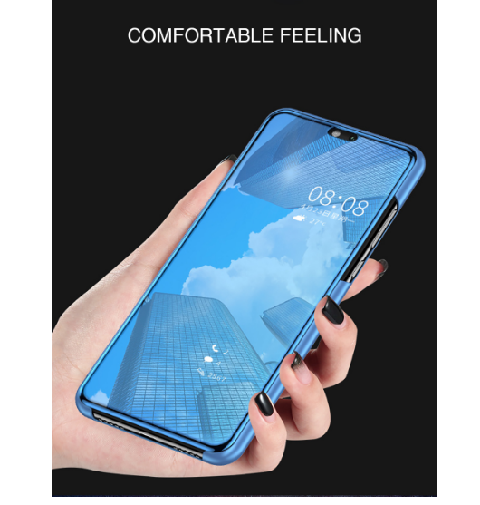 Ojeleye Case For Sony Xperia XZ3 Case Smart Flip Leather Cover For Sony XZ4 Cover Back Housing Coque Phone Shell in Wallet Cases from Cellphones Telecommunications