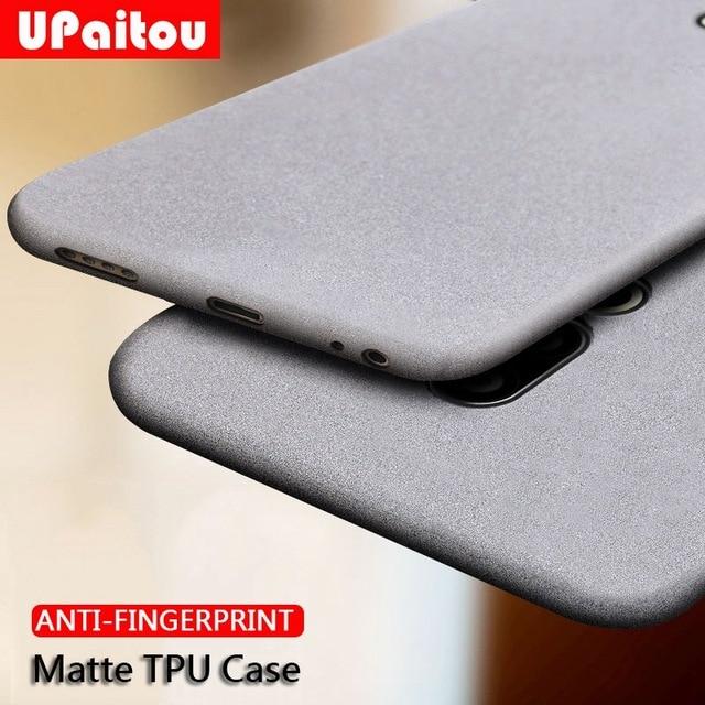 UPaitou Case for Meizu 16 16th 15 Plus Lite X 16S Anti Fingerprint Case Soft Silicone Matte Ultra Thin TPU Cover for MEIZU 16S