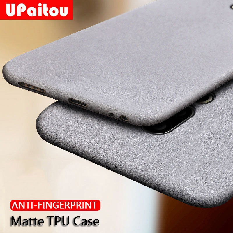 UPaitou Case for Meizu 16Xs 16 16th 15 Plus Lite X 16S Anti Fingerprint Case Soft Matte Ultra Thin TPU Cover for MEIZU 16S Case image