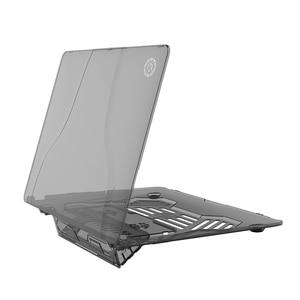 Image 5 - תכליתי מקרי מחשב נייד ידית נייד שקוף PC case עבור Apple Macbook Air Pro 13.3 מחשב נייד כיסוי A1369 A1706 A1708
