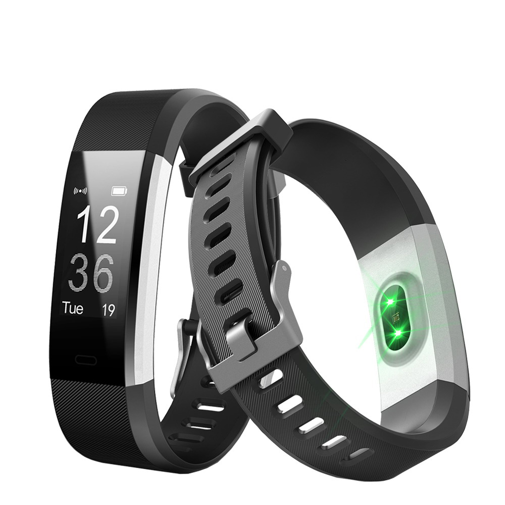 Aihontai ID115 HR PLUS Smart Wristband Sports Heart Rate Smart Band Fitness Tracker Smart Bracelet Smart Watch for Android