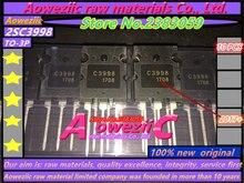 Aoweziic Taiwan Fabrikanten 100% Hoge Kwaliteit 2SC3998 C3998 TO 3PL ultrasone speciale high power transistor 25A 1500V