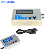 DC 9V 1602 LCD Display Digital DDS Function Signal Generator Module Sine + Triangle + Square Wave + USB Cable (1HZ 65534HZ)