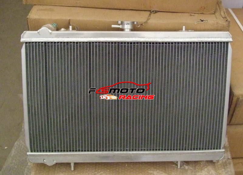 52MM Aluminum race Radiator Fit Nissan 200SX S13 CA18DET 1.8 Turbo 1988-1994 MT