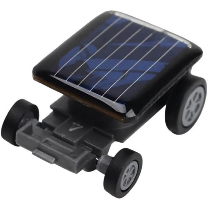 New High Quality Smallest Mini Car Solar Power Toy Car Racer Educational Gadget Children Kids Toys Hot Selling solar robot ZJD