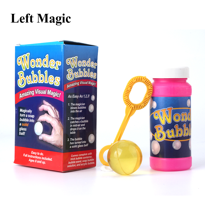 Wonder Bubbles - Magic Tricks Stage Gimmick Close Up  Prop Accessories Comedy Funny