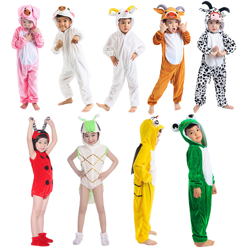 Are Adult animal costume sheep excited