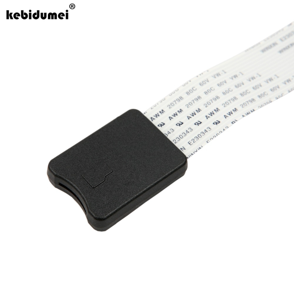 25//48//62cm TF To SD Card Extension Cable Adapter Flexible Extender For Car GPS