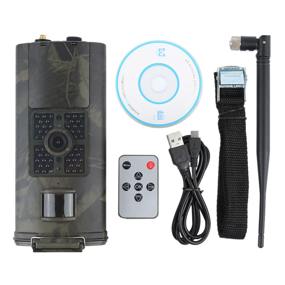 Caméra de chasse HC700G photopièges 3G HD16MP caméra de sentier PRS MMS SMTP SMS 1080 P imageur thermique Vision nocturne 940nms caméra de chasse - 6