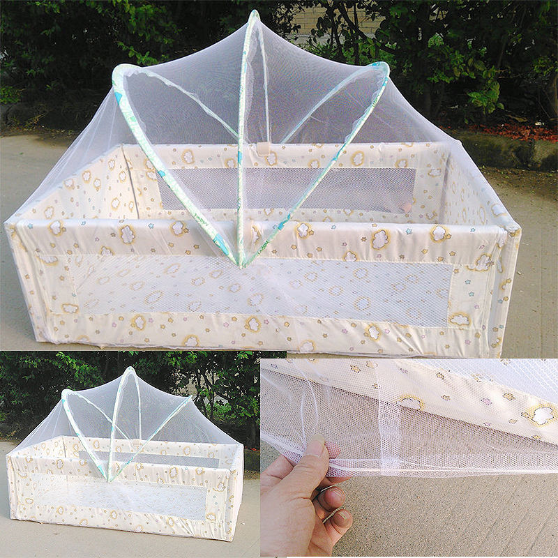 Baby Cradle Bed Mosquito Net Safe Arched Canopy Tent Toddler Crib Cot Safe Netting Mesh Anti Mosquitoes u0026 Bugs Universal -in Mosquito Net from Home u0026 Garden ... & Baby Cradle Bed Mosquito Net Safe Arched Canopy Tent Toddler Crib ...