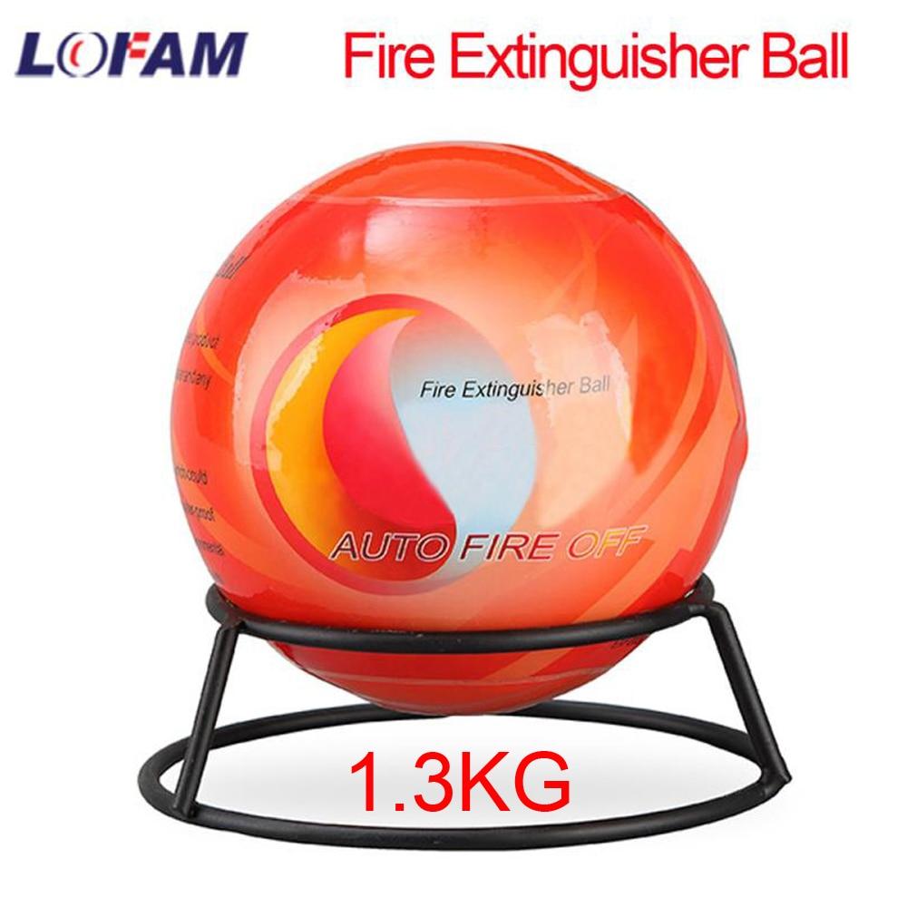 Огнетушитель AFO для автомобилей, домашний Огнетушитель с шариком, автоматическое устройство подавления сухого порошка огнетушителя, 1,3 кг, ...