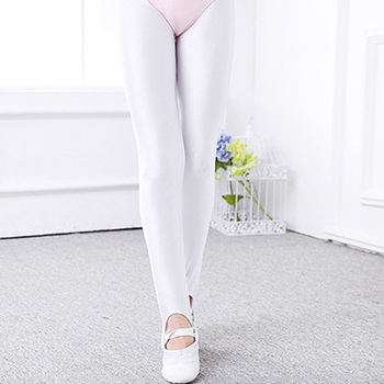 Children Gymnastic Leggings Stirrup Pants Boys Kid Practice Ballet Tights Socks Girls Spandex Yoga Dancing Students Pantyhose