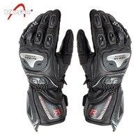VEMAR Motorcycle Gloves Genuine Goat Leather Riding Dirt Bike Motos Gloves Driving Luvas Motocross Off Road Racing Gloves