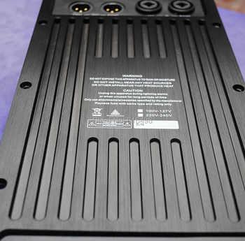 Subwoofer Speaker Amplifier Board RMS 1200W Class D Amplifier Plate Built in DSP module with Aluminum Radiator