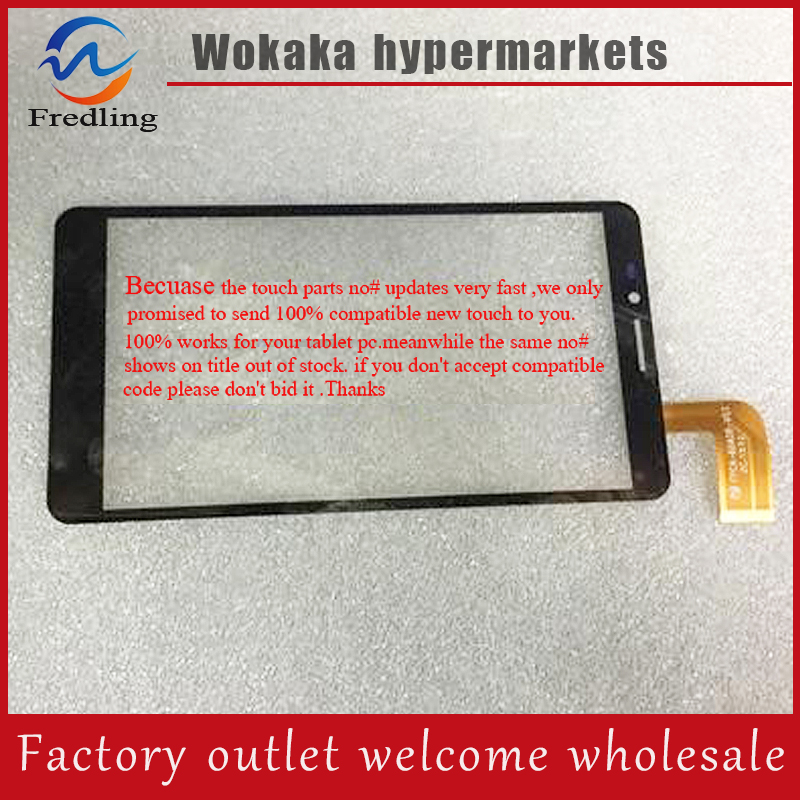 New touch screen For 6 Qilive Q5 4G Phablet Touch panel Digitizer Glass Sensor Replacement Free Shipping touch panel for alcatel vodafone smart prime 6 vf895 vf895n vf 895 vf 895n 5 0 black touch screen digitizer glass sensor panel