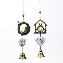 Swing Tree Vine Cat Wind Bell Japanese Style Creative Home Decor Pendant Student Gift Friend Birthday Gift Miniatures Figurine(China)