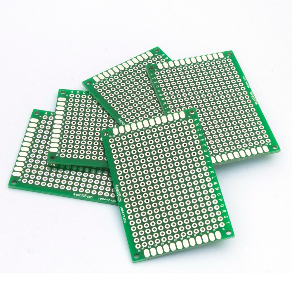 Mcigicm 10pcs Pcb High Quality Double Side Prototype Diy Sided 2layer Printed Circuit Boards Fabrication Of Universal