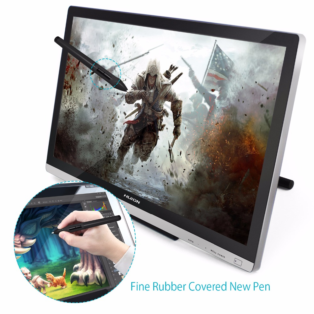 Image 4 - HUION GT 220 V2 21.5 Inch Pen Display Digital Graphics Drawing Tablet Monitor IPS HD Pen Tablet Monitor 8192 Levels with Gifts-in Digital Tablets from Computer & Office