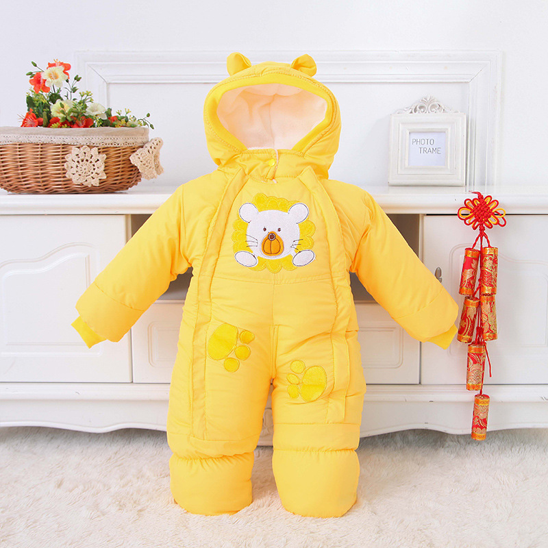 f46988eb296d 2018 New Design Baby Rompers Winter Overalls for Newborns Cotton ...