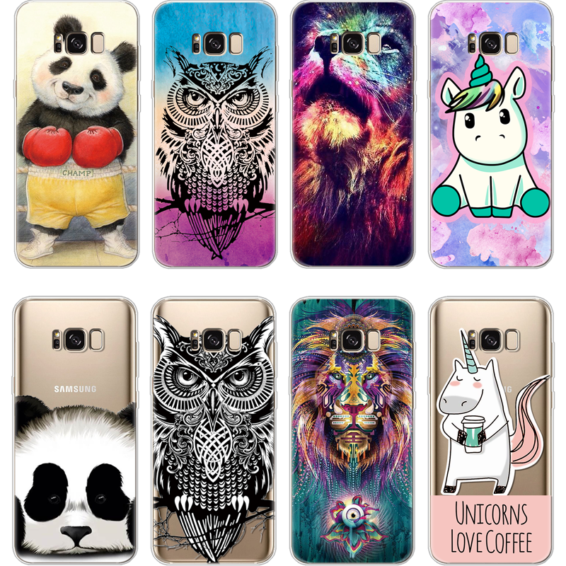 Cellphones & Telecommunications Phone Bags & Cases Cool Animal Panda Husky Puppy Cover For Samsung Galaxy S4 S5 Mini S6 S7 Edge S8 S9 Plus Grand Prime Note 4 5 8 Silicone Case