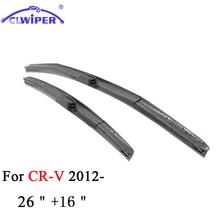 CLWIPER Wiper Blades For HONDA CR-V CRV 26″+16″ 2012 2013 2014 2015 2016 Car Windscreen Wiper Windshield Wiper Blade