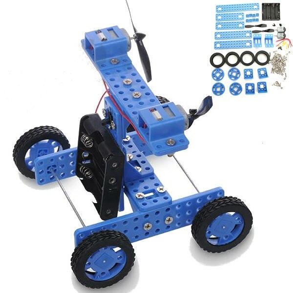 DIY Резиновые Колеса Тележки Ветер № 34 Модель Комплект Для Arduino DIY Ручной Сборки