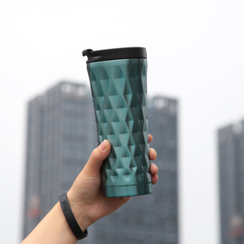 Double Insulated Thermal Flask and 304 Stainless Steel Vacuum Bottle with Food Grade Plastic Lid