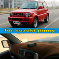 Carro-styling dashmats acessórios tampa do painel para suzuki Jimny Wide Sierra 4*4 JB23 JB33 JB43 JB53 1998-2016 rhd