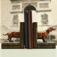Fashion Vintage Book End Elegant Book Ends Brief Bookend Accessories Decoration Classical Bookend