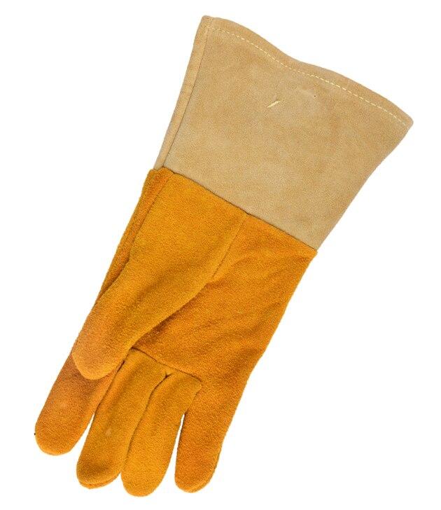 Split Deer Skin Leather Labor Welding Glove TIG MIG Safety Glove Deerskin Leather Driver Work Glove