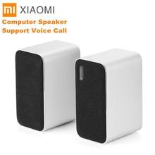 Original xiaomi bluetooth computador alto falante portátil duplo baixo estéreo sem fio bluetooth4.2 apoio chamada de voz