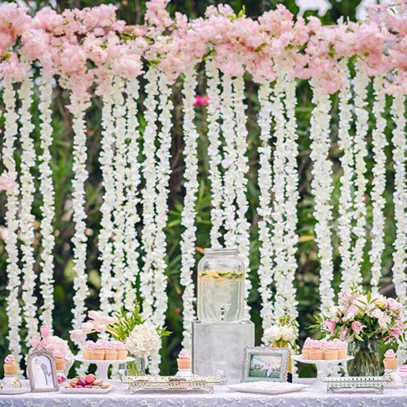 10pcs Flower Vine For Bachelorette Party Outdoor Wedding