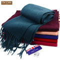 Top Quality Luxury Thick Mongolian Cashmere Scarf Warm Shawl Wrap Cape