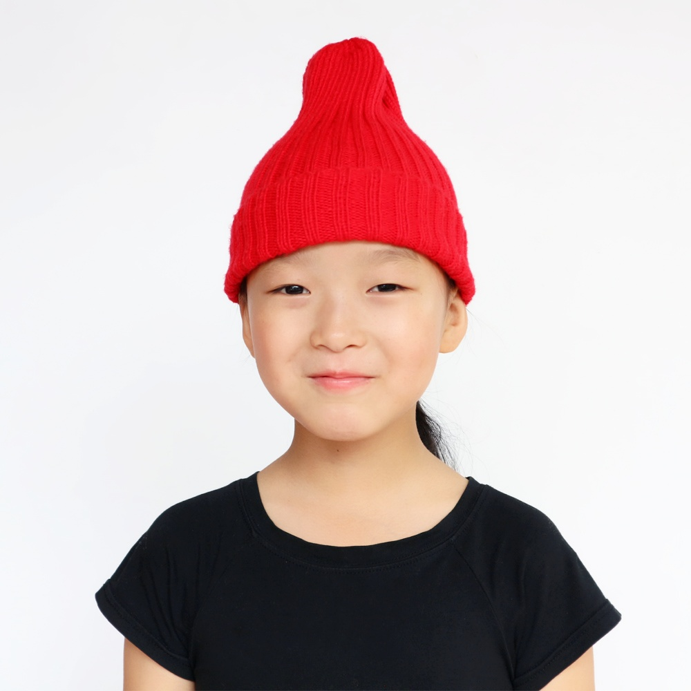 BooLawDee Spring children boy girl knit watch cap handmade crochet elastic  hat fashion winter warm beanies teen students M019-in Hats   Caps from  Mother ... 9aa216876e2